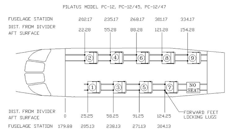 PC-12 Seating Configuration